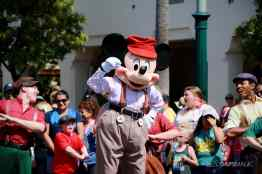 Final Performance Red Car Trolley News Boys at Disney California Adventure-13
