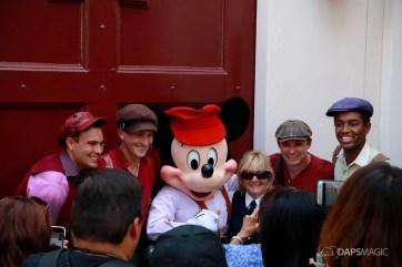 Final Performance Red Car Trolley News Boys at Disney California Adventure-28