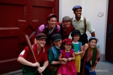 Final Performance Red Car Trolley News Boys at Disney California Adventure-30