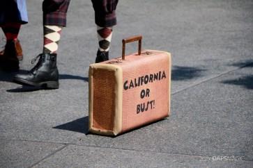 Final Performance Red Car Trolley News Boys at Disney California Adventure-4