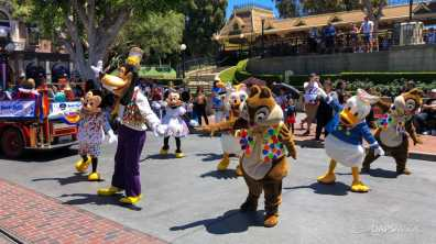 First Performance- Mickey and Friends Band-Tastic Cavalcade at Disneyland-21