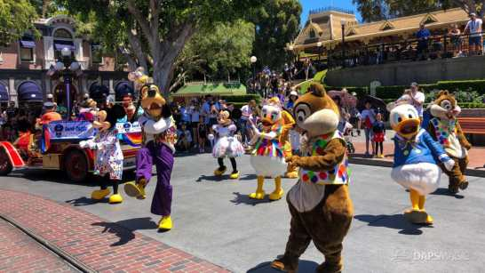 First Performance- Mickey and Friends Band-Tastic Cavalcade at Disneyland-25