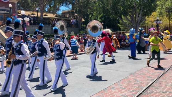 First Performance- Mickey and Friends Band-Tastic Cavalcade at Disneyland-27