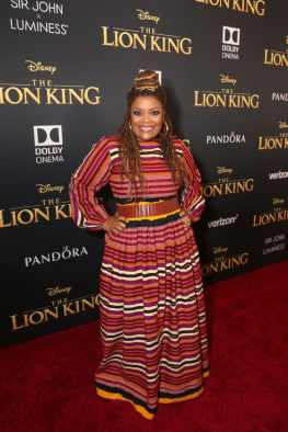 "HOLLYWOOD, CALIFORNIA - JULY 09: Yvette Nicole Brown attends the World Premiere of Disney's ""THE LION KING"" at the Dolby Theatre on July 09, 2019 in Hollywood, California. (Photo by Jesse Grant/Getty Images for Disney)"