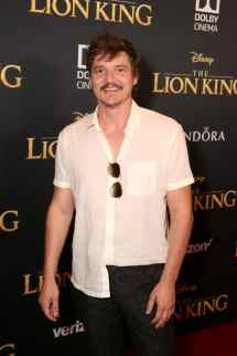 "HOLLYWOOD, CALIFORNIA - JULY 09: Pedro Pascal attends the World Premiere of Disney's ""THE LION KING"" at the Dolby Theatre on July 09, 2019 in Hollywood, California. (Photo by Jesse Grant/Getty Images for Disney)"