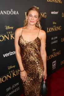 "HOLLYWOOD, CALIFORNIA - JULY 09: LeAnn Rimes attends the World Premiere of Disney's ""THE LION KING"" at the Dolby Theatre on July 09, 2019 in Hollywood, California. (Photo by Jesse Grant/Getty Images for Disney)"