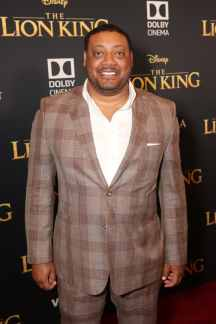"HOLLYWOOD, CALIFORNIA - JULY 09: Cedric Yarbrough attends the World Premiere of Disney's ""THE LION KING"" at the Dolby Theatre on July 09, 2019 in Hollywood, California. (Photo by Jesse Grant/Getty Images for Disney)"