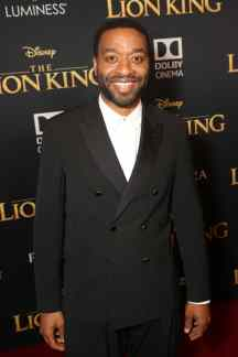 "HOLLYWOOD, CALIFORNIA - JULY 09: Chiwetel Ejiofor attends the World Premiere of Disney's ""THE LION KING"" at the Dolby Theatre on July 09, 2019 in Hollywood, California. (Photo by Jesse Grant/Getty Images for Disney)"