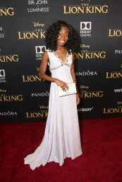 "HOLLYWOOD, CALIFORNIA - JULY 09: Shahadi Wright Joseph attends the World Premiere of Disney's ""THE LION KING"" at the Dolby Theatre on July 09, 2019 in Hollywood, California. (Photo by Jesse Grant/Getty Images for Disney)"