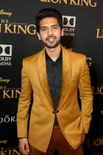 "HOLLYWOOD, CALIFORNIA - JULY 09: Armaan Malik attends the World Premiere of Disney's ""THE LION KING"" at the Dolby Theatre on July 09, 2019 in Hollywood, California. (Photo by Jesse Grant/Getty Images for Disney)"