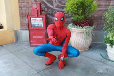 Spider-Man With New Suit at Disney California Adventure-18