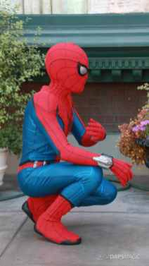 Spider-Man With New Suit at Disney California Adventure-5