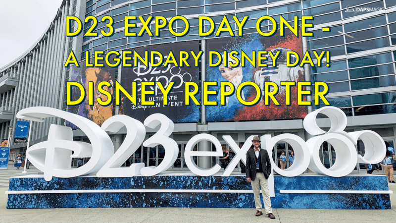 D23 Expo Day One - A Legendary Disney Day! - DISNEY Reporter