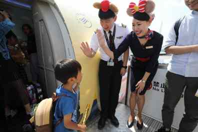 Shanghai Disney Resort Duffy Month China Eastern Airlines-11