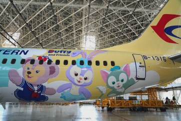 Shanghai Disney Resort Duffy Month China Eastern Airlines-6