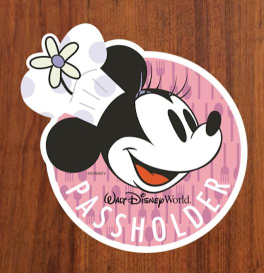 Chef Minnie Walt Disney World Resort Annual Passholder Magnet