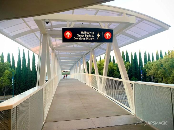 Disneyland Resort Parking Lot Pedestrian Bridge and Plaza-1