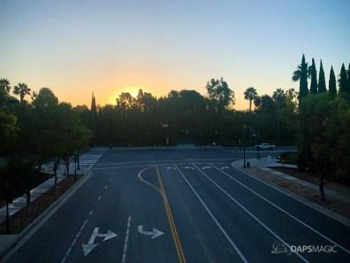 Disneyland Resort Parking Lot Pedestrian Bridge and Plaza-2