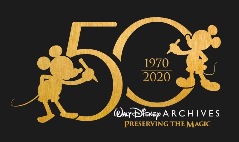 The Walt Disney Archives 50th Anniversary