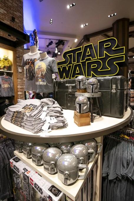 Anaheim, CA - OCTOBER 04: Star Wars & Frozen fans attend midnight opening on October 04, 2019 at Downtown Disney District at Disneyland Resort. (Photo by Disney)