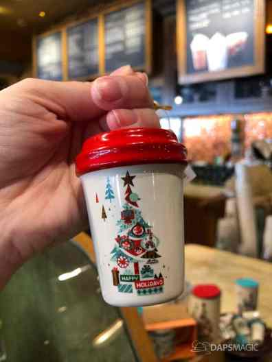Disney Parks Starbucks Holiday Tumbler and Ornament-3