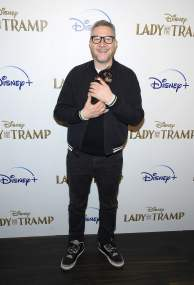 "NEW YORK, NEW YORK - OCTOBER 22: Charlie Bean attends as Cinema Society hosts a special screening of Disney+'s ""Lady And The Tramp"" at iPic Theater on October 22, 2019 in New York City. (Photo by Dimitrios Kambouris/Getty Images for Disney+)"