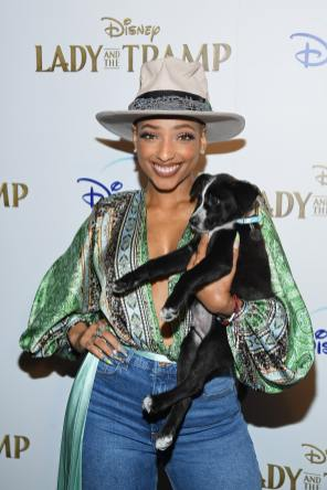 "NEW YORK, NEW YORK - OCTOBER 22: LeA Robinson attends as Cinema Society hosts a special screening of Disney+'s ""Lady And The Tramp"" at iPic Theater on October 22, 2019 in New York City. (Photo by Dimitrios Kambouris/Getty Images for Disney+)"