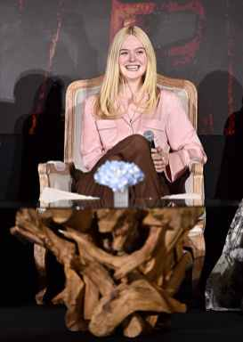 "BEVERLY HILLS, CALIFORNIA - SEPTEMBER 30: Actor Elle Fanning participates in the global press conference for ""Disney's Maleficent: Mistress of Evil"" on September 30, 2019 in Beverly Hills, California. (Photo by Alberto E. Rodriguez/Getty Images for Disney)"