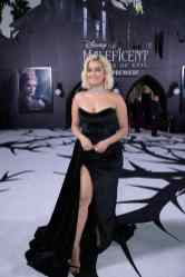 """Bebe Rexha attends the World Premiere of Disney's """"Maleficent: Mistress of Evil"""" at the El Capitan Theatre in Hollywood, CA on September 30, 2019 .(photo: Alex J. Berliner/ABImages)"""
