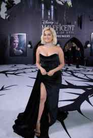 "Bebe Rexha attends the World Premiere of Disney's ""Maleficent: Mistress of Evil"" at the El Capitan Theatre in Hollywood, CA on September 30, 2019 .(photo: Alex J. Berliner/ABImages)"