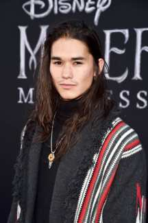 """HOLLYWOOD, CALIFORNIA - SEPTEMBER 30: Booboo Stewart attends the World Premiere of Disney's """"Maleficent: Mistress of Evil"""" at the El Capitan Theatre on September 30, 2019 in Hollywood, California. (Photo by Alberto E. Rodriguez/Getty Images for Disney)"""