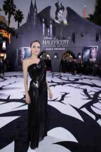 """Angelina Jolie attends the World Premiere of Disney's """"Maleficent: Mistress of Evil"""" at the El Capitan Theatre in Hollywood, CA on September 30, 2019 .(photo: Alex J. Berliner/ABImages)"""