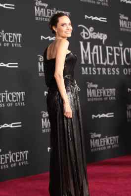 """Angelina Jolie attends the World Premiere of Disney's """"Maleficent: Mistress of Evil"""" at the El Capitan Theatre in Hollywood, CA on September 30, 2019 (photo: Alex J. Berliner/ABImages)"""