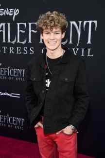"""HOLLYWOOD, CALIFORNIA - SEPTEMBER 30: Hayden Summerall attends the World Premiere of Disney's """"Maleficent: Mistress of Evil"""" at the El Capitan Theatre on September 30, 2019 in Hollywood, California. (Photo by Alberto E. Rodriguez/Getty Images for Disney)"""