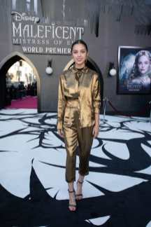 """Olivia Rodrigo attends the World Premiere of Disney's """"Maleficent: Mistress of Evil"""" at the El Capitan Theatre in Hollywood, CA on September 30, 2019 .(photo: Alex J. Berliner/ABImages)"""
