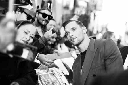 """HOLLYWOOD, CALIFORNIA - SEPTEMBER 30: Actor Ed Skrein attends the World Premiere of Disney's """"Maleficent: Mistress of Evil"""" at the El Capitan Theatre on September 30, 2019 in Hollywood, California. (Photo by Charley Gallay/Getty Images for Disney)"""