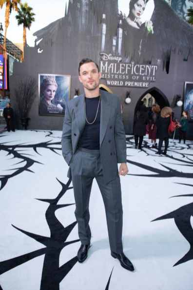 "Ed Skrein attends the World Premiere of Disney's ""Maleficent: Mistress of Evil"" at the El Capitan Theatre in Hollywood, CA on September 30, 2019 .(photo: Alex J. Berliner/ABImages)"