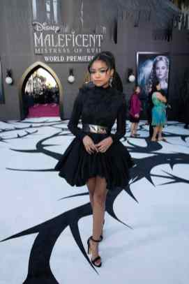 """Navia Robinson attends the World Premiere of Disney's """"Maleficent: Mistress of Evil"""" at the El Capitan Theatre in Hollywood, CA on September 30, 2019 .(photo: Alex J. Berliner/ABImages)"""