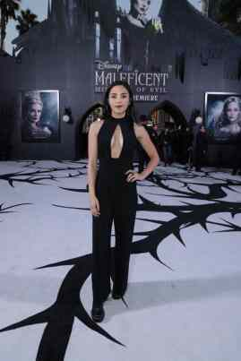 """Anna Akana attends the World Premiere of Disney's """"Maleficent: Mistress of Evil"""" at the El Capitan Theatre in Hollywood, CA on September 30, 2019 (photo: Alex J. Berliner/ABImages)"""
