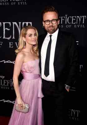 """HOLLYWOOD, CALIFORNIA - SEPTEMBER 30: (L-R) Kristin Rønning and Director Joachim Rønning attends the World Premiere of Disney's """"Maleficent: Mistress of Evil"""" at the El Capitan Theatre on September 30, 2019 in Hollywood, California. (Photo by Alberto E. Rodriguez/Getty Images for Disney)"""