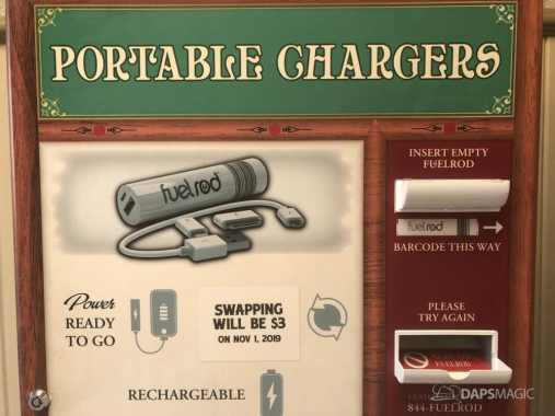 Portable Chargers Disneyland Swap Price Change
