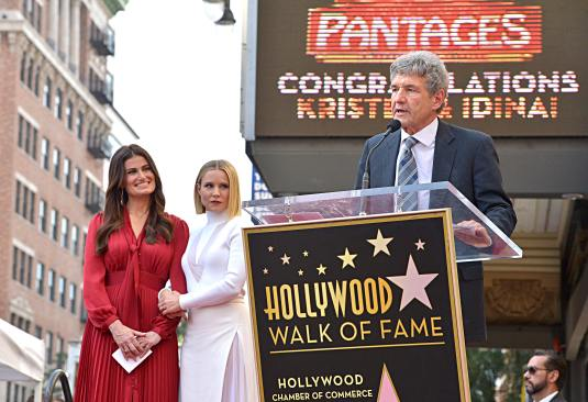 LOS ANGELES, CALIFORNIA - NOVEMBER 19: Co-Chairman and Chief Creative Officer of The Walt Disney Studios Alan Horn attends the double Walk of Fame ceremony in Hollywood, Calif., where Kristen Bell and Idina Menzel from Disney's FROZEN 2 were each presented with a star on the Hollywood Walk of Fame on November 19, 2020. (Photo by Charley Gallay/Getty Images for Disney )