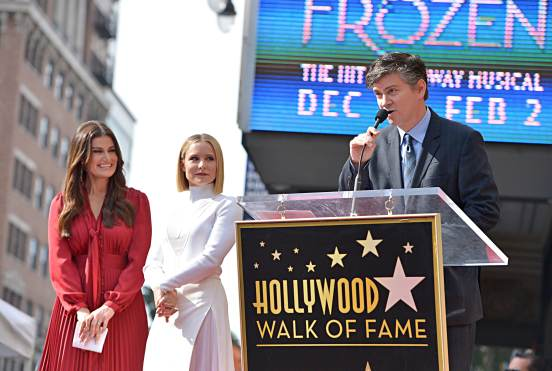 LOS ANGELES, CALIFORNIA - NOVEMBER 19: Michael Schur attends the double Walk of Fame ceremony in Hollywood, Calif., where Kristen Bell and Idina Menzel from Disney's FROZEN 2 were each presented with a star on the Hollywood Walk of Fame on November 19, 2020. (Photo by Charley Gallay/Getty Images for Disney )
