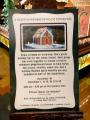 Grand Californian Hotel and Spa Gingerbread House-6