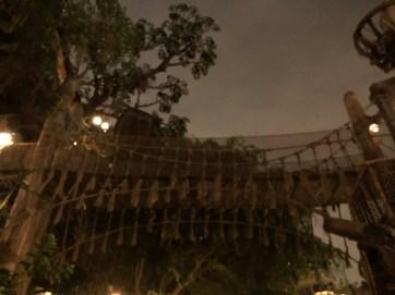 Tarzan's Treehouse Incident