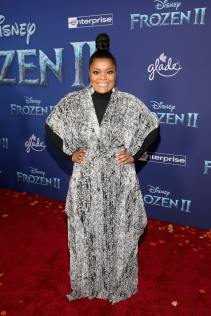 "HOLLYWOOD, CALIFORNIA - NOVEMBER 07: Yvette Nicole Brown attends the world premiere of Disney's ""Frozen 2"" at Hollywood's Dolby Theatre on Thursday, November 7, 2019 in Hollywood, California. (Photo by Jesse Grant/Getty Images for Disney)"