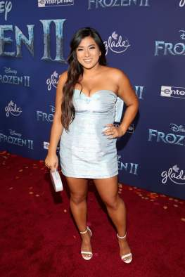 """HOLLYWOOD, CALIFORNIA - NOVEMBER 07: Remi Cruz attends the world premiere of Disney's """"Frozen 2"""" at Hollywood's Dolby Theatre on Thursday, November 7, 2019 in Hollywood, California. (Photo by Jesse Grant/Getty Images for Disney)"""