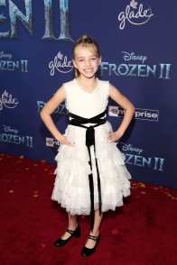"""HOLLYWOOD, CALIFORNIA - NOVEMBER 07: Kingston Foster attends the world premiere of Disney's """"Frozen 2"""" at Hollywood's Dolby Theatre on Thursday, November 7, 2019 in Hollywood, California. (Photo by Jesse Grant/Getty Images for Disney)"""