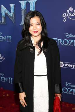 """HOLLYWOOD, CALIFORNIA - NOVEMBER 07: Yvonne Hou attends the world premiere of Disney's """"Frozen 2"""" at Hollywood's Dolby Theatre on Thursday, November 7, 2019 in Hollywood, California. (Photo by Jesse Grant/Getty Images for Disney)"""