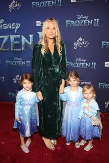 "HOLLYWOOD, CALIFORNIA - NOVEMBER 07: Molly Sims and guests attend the world premiere of Disney's ""Frozen 2"" at Hollywood's Dolby Theatre on Thursday, November 7, 2019 in Hollywood, California. (Photo by Jesse Grant/Getty Images for Disney)"